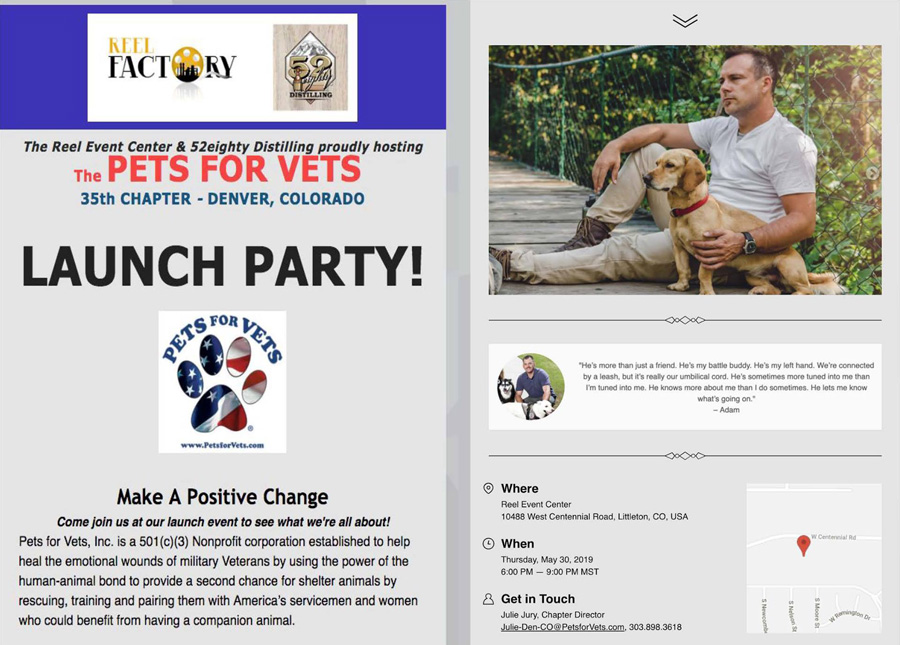 Hope for Paws Colorado - Pets for Vets